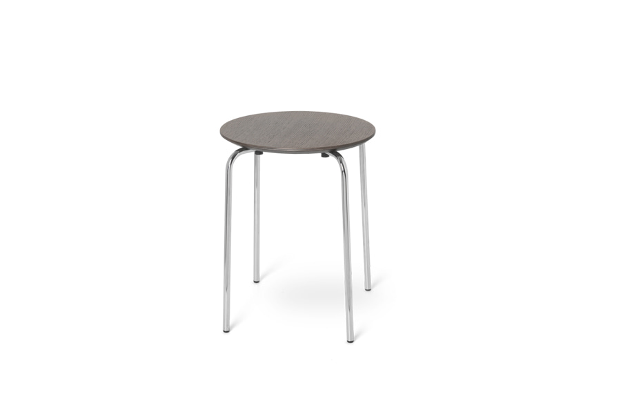 펌리빙 허먼 스툴Herman Stool Dark Stained Oak/chrome