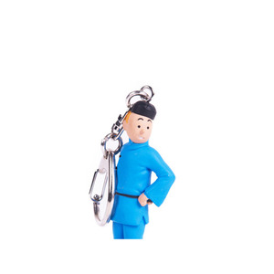 PVC Key Ring TINTIN Lotus 9cm