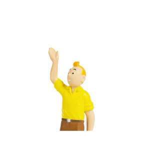 PVC Figurine TINTIN Welcomes 6cm