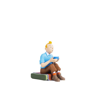 PVC Figurine TINTIN Seated Tibet 3.8cm