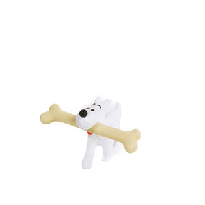PVC Figurine Snowy Walking Bone 4.5cm