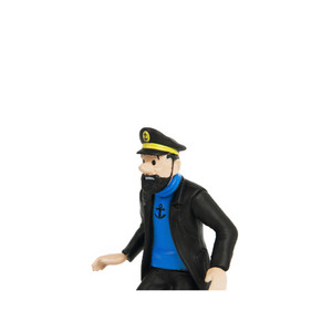 PVC Figurine Haddock in de Rally 9cm