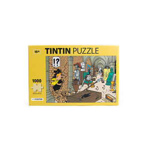 Puzzle and Poster 1000pcs Treasures of the Castle