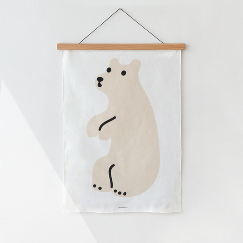 Huggy BearFabric Poster-Small