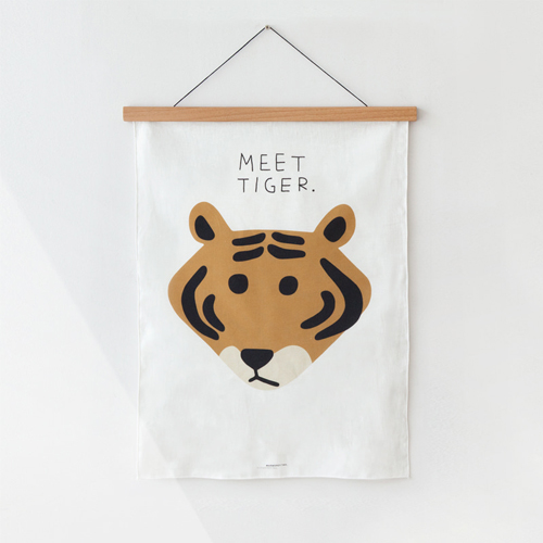 Meet TigerFabric Poster