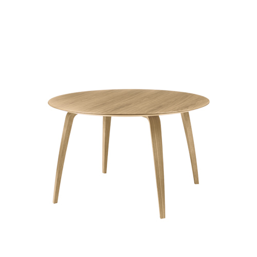 구비 다이닝 테이블Dining Table Round ∅120 Oak Semi Matt Lacquered