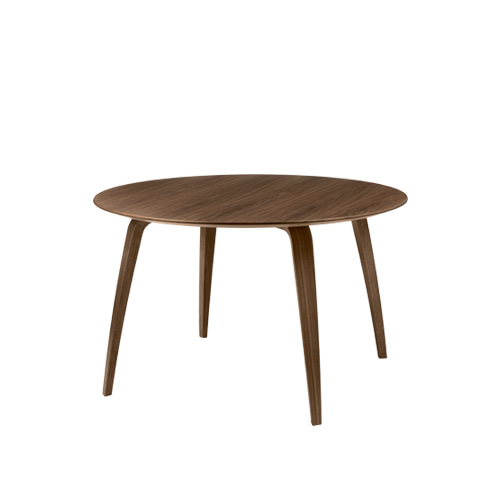 구비 다이닝 테이블Dining Table Round∅120 American Walnut Semi Matt Lacquered