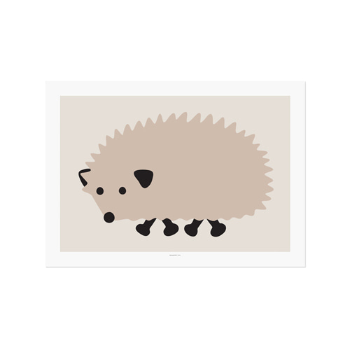 BLACK FOOT HEDGEHOG 2size