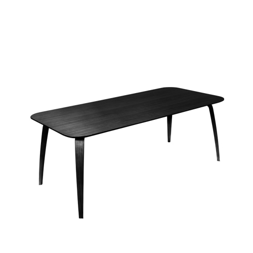 구비 다이닝 테이블 Dining Table Rectangular 90 x 180 Black