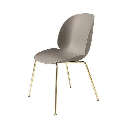 구비 비틀 다이닝 체어Beetle Dining Chair Brass Frame / New Beige