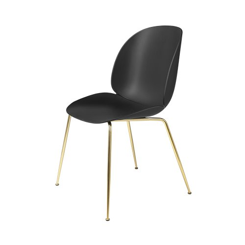 구비 비틀 다이닝 체어Beetle Dining Chair Brass Frame / Black