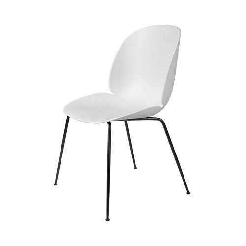 구비 비틀 다이닝 체어Beetle Dining Chair Black Frame / Alabaster White