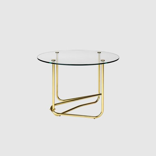 구비 마테곳 사이드 테이블Mategot side table Transparent Glass
