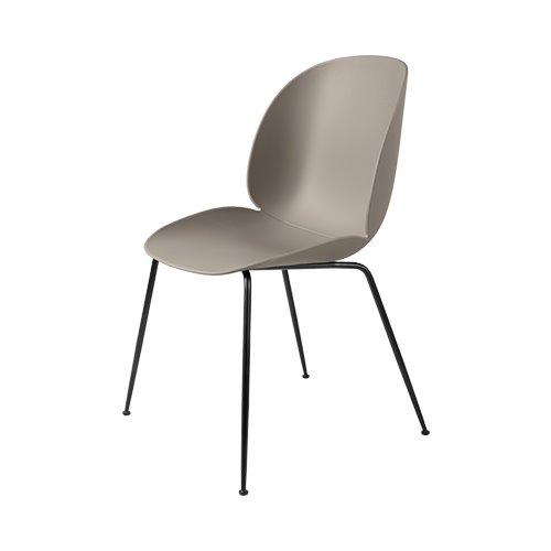 구비 비틀 다이닝 체어 Beetle Dining Chair Black Frame / New Beige