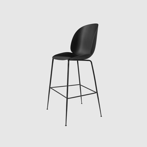 구비 비틀 바 체어Beetle Bar Chair Black Frame / Black